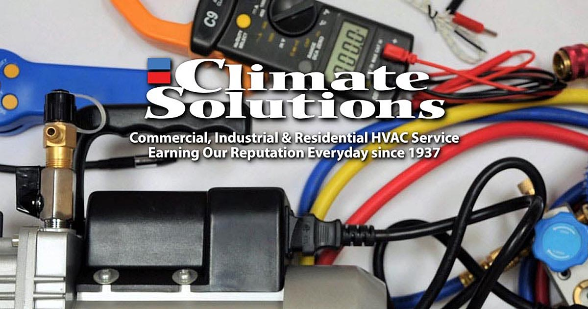 Hvac Service Technician Job With Climate Solutions